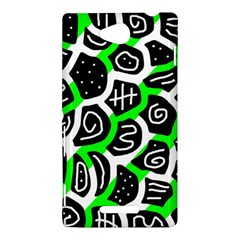 Green playful design Sony Xperia C (S39H)