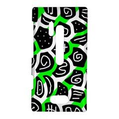Green playful design Nokia Lumia 928