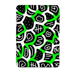 Green playful design Samsung Galaxy Tab 2 (10.1 ) P5100 Hardshell Case