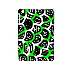 Green playful design iPad Mini 2 Hardshell Cases