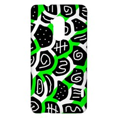 Green playful design HTC One Max (T6) Hardshell Case