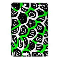 Green playful design Amazon Kindle Fire HD (2013) Hardshell Case