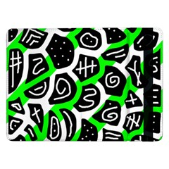 Green playful design Samsung Galaxy Tab Pro 12.2  Flip Case