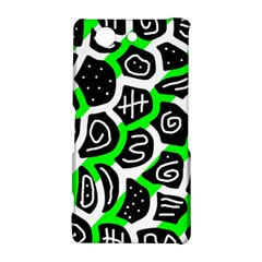 Green playful design Sony Xperia Z3 Compact