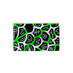 Green playful design Cosmetic Bag (XS)