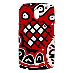 Red high art abstraction Samsung Galaxy Nexus i9250 Hardshell Case