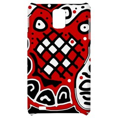 Red high art abstraction Samsung Infuse 4G Hardshell Case