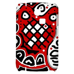 Red high art abstraction Samsung S3350 Hardshell Case