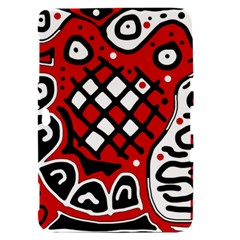 Red high art abstraction Samsung Galaxy Tab 8.9  P7300 Hardshell Case