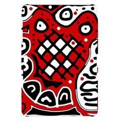 Red high art abstraction Samsung Galaxy Tab 10.1  P7500 Hardshell Case