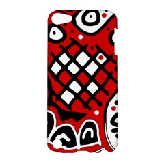 Red high art abstraction Apple iPod Touch 5 Hardshell Case