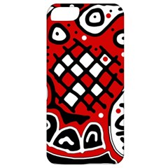Red high art abstraction Apple iPhone 5 Classic Hardshell Case
