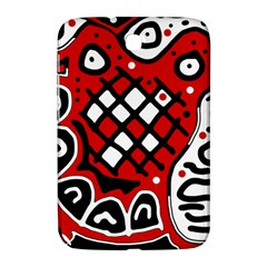Red High Art Abstraction Samsung Galaxy Note 8 0 N5100 Hardshell Case
