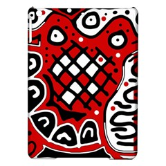 Red high art abstraction iPad Air Hardshell Cases