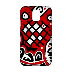 Red high art abstraction Samsung Galaxy S5 Hardshell Case