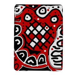 Red high art abstraction iPad Air 2 Hardshell Cases
