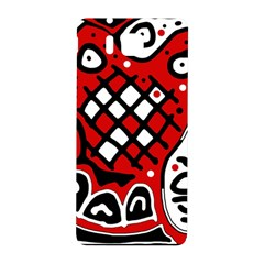 Red high art abstraction Samsung Galaxy Alpha Hardshell Back Case