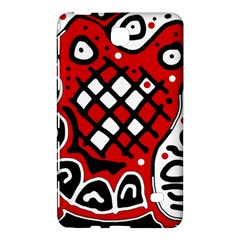 Red high art abstraction Samsung Galaxy Tab 4 (7 ) Hardshell Case