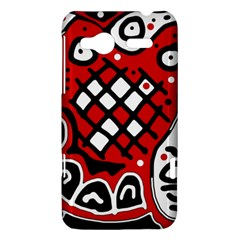 Red high art abstraction HTC Radar Hardshell Case