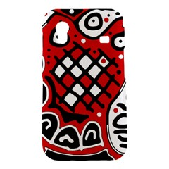 Red high art abstraction Samsung Galaxy Ace S5830 Hardshell Case