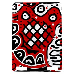 Red high art abstraction Kindle Touch 3G