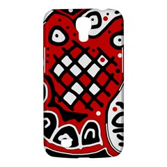 Red high art abstraction Samsung Galaxy Mega 6.3  I9200 Hardshell Case