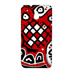 Red high art abstraction HTC One Mini (601e) M4 Hardshell Case