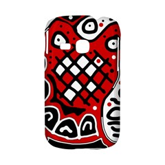 Red high art abstraction Samsung Galaxy S6310 Hardshell Case