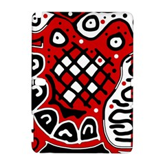 Red high art abstraction Samsung Galaxy Note 10.1 (P600) Hardshell Case