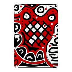 Red high art abstraction Samsung Galaxy Tab Pro 12.2 Hardshell Case