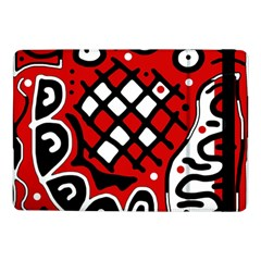 Red high art abstraction Samsung Galaxy Tab Pro 10.1  Flip Case