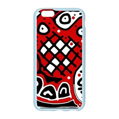 Red high art abstraction Apple Seamless iPhone 6/6S Case (Color)