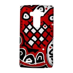 Red high art abstraction LG G4 Hardshell Case