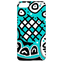 Cyan high art abstraction Apple iPhone 5 Classic Hardshell Case