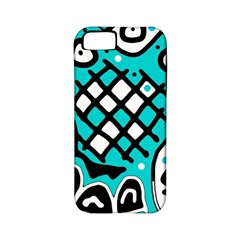 Cyan high art abstraction Apple iPhone 5 Classic Hardshell Case (PC+Silicone)
