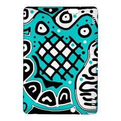Cyan high art abstraction Kindle Fire HDX 8.9  Hardshell Case