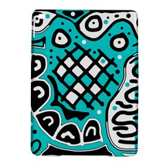 Cyan high art abstraction iPad Air 2 Hardshell Cases