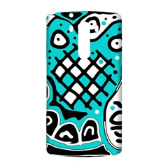 Cyan high art abstraction LG G3 Back Case