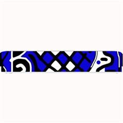 Blue high art abstraction Small Bar Mats