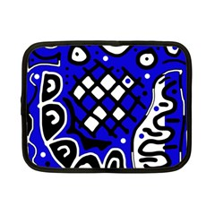 Blue high art abstraction Netbook Case (Small)