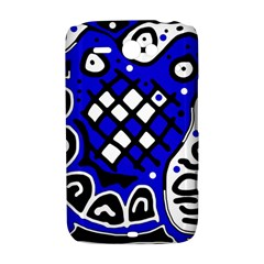 Blue high art abstraction HTC ChaCha / HTC Status Hardshell Case
