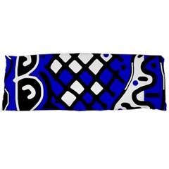 Blue high art abstraction Body Pillow Case (Dakimakura)