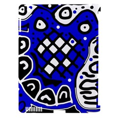 Blue high art abstraction Apple iPad 3/4 Hardshell Case (Compatible with Smart Cover)