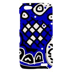 Blue high art abstraction HTC One V Hardshell Case