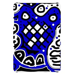 Blue high art abstraction Samsung Galaxy Tab 10.1  P7500 Hardshell Case