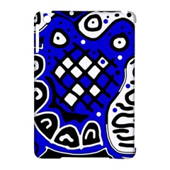 Blue high art abstraction Apple iPad Mini Hardshell Case (Compatible with Smart Cover)
