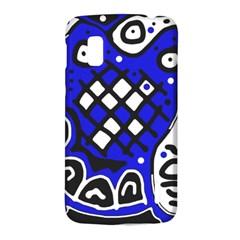 Blue high art abstraction LG Nexus 4