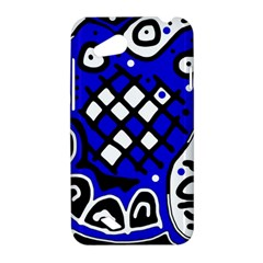 Blue high art abstraction HTC Desire VC (T328D) Hardshell Case