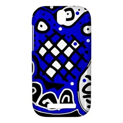 Blue high art abstraction HTC One SV Hardshell Case