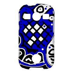 Blue high art abstraction Samsung Galaxy S7710 Xcover 2 Hardshell Case